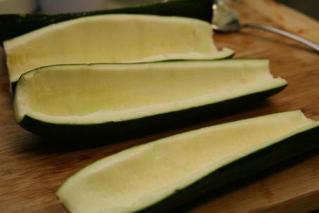 hollow zucchini