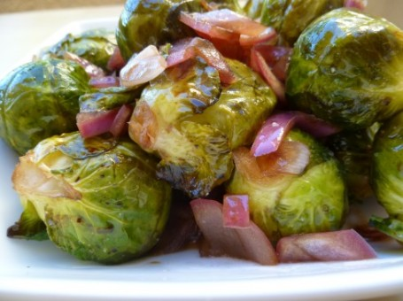 brussel sprouts onion