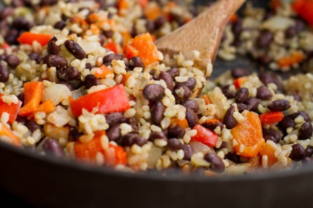 rice and bean salad mix