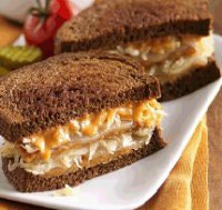 Meatless Rueben